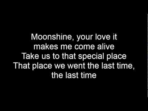 Bruno Mars - Moonshine lyrics