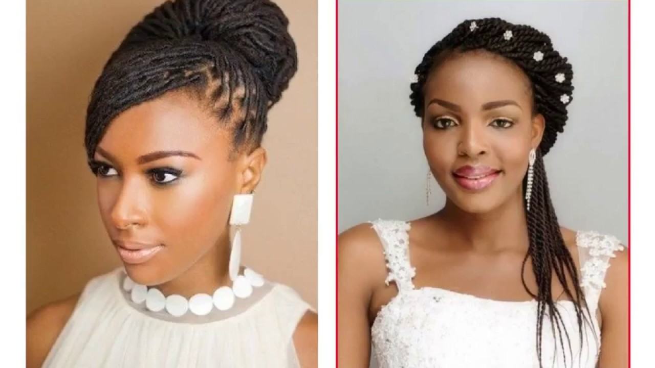 wedding hairstyles braids african american