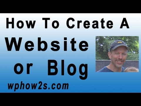 How to Create a Website or Blog with WordPress! BEGINNERS Tutorial