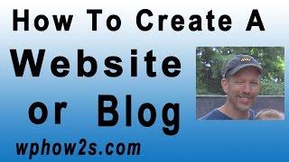 كيفية إنشاء موقع أو مدونة مع وورد! البرنامج التعليمي للمبتدئين