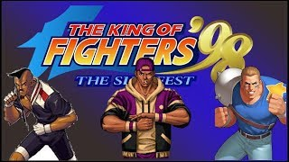 LIVE: THE KING OF FIGHTERS 98 THE SLUGFEST
