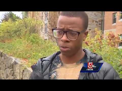 Defaced Black Lives Matter signs outrage students at Boston College