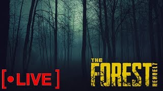 TO KANIBALE BOJĄ SIĘ NAS !! / The Forest - Na żywo