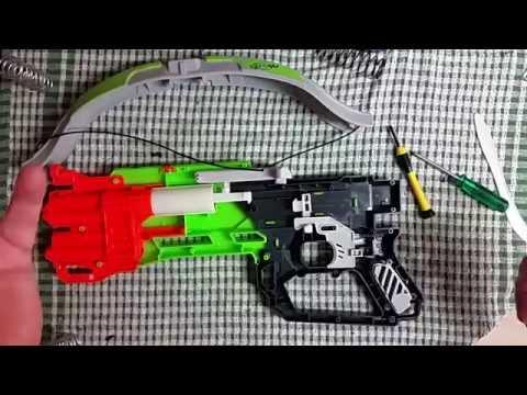 Simple Nerf Zombie Strike Crossfire Bow