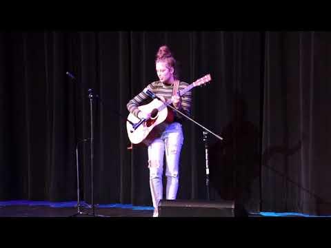 "Oak Grove Lutheran School | Variety Show - Mya Kommer Singing ""Feeling Whitney"""