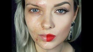 Топ 20 невероятных фото девушек до и после макияжа