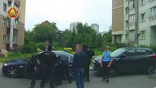 Задержание фигуранта уголовного дела в Минске