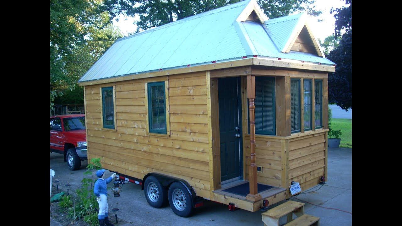 This tiny house is freakin 39 sweet new and updated youtube for How much would it cost to build your own house