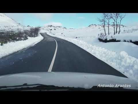 Montalegre Neve em Abril 06-04-2019