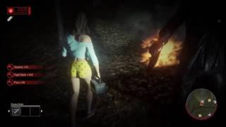 Tiffany Fixes the Car All by Herself (Friday the 13th: The Game)
