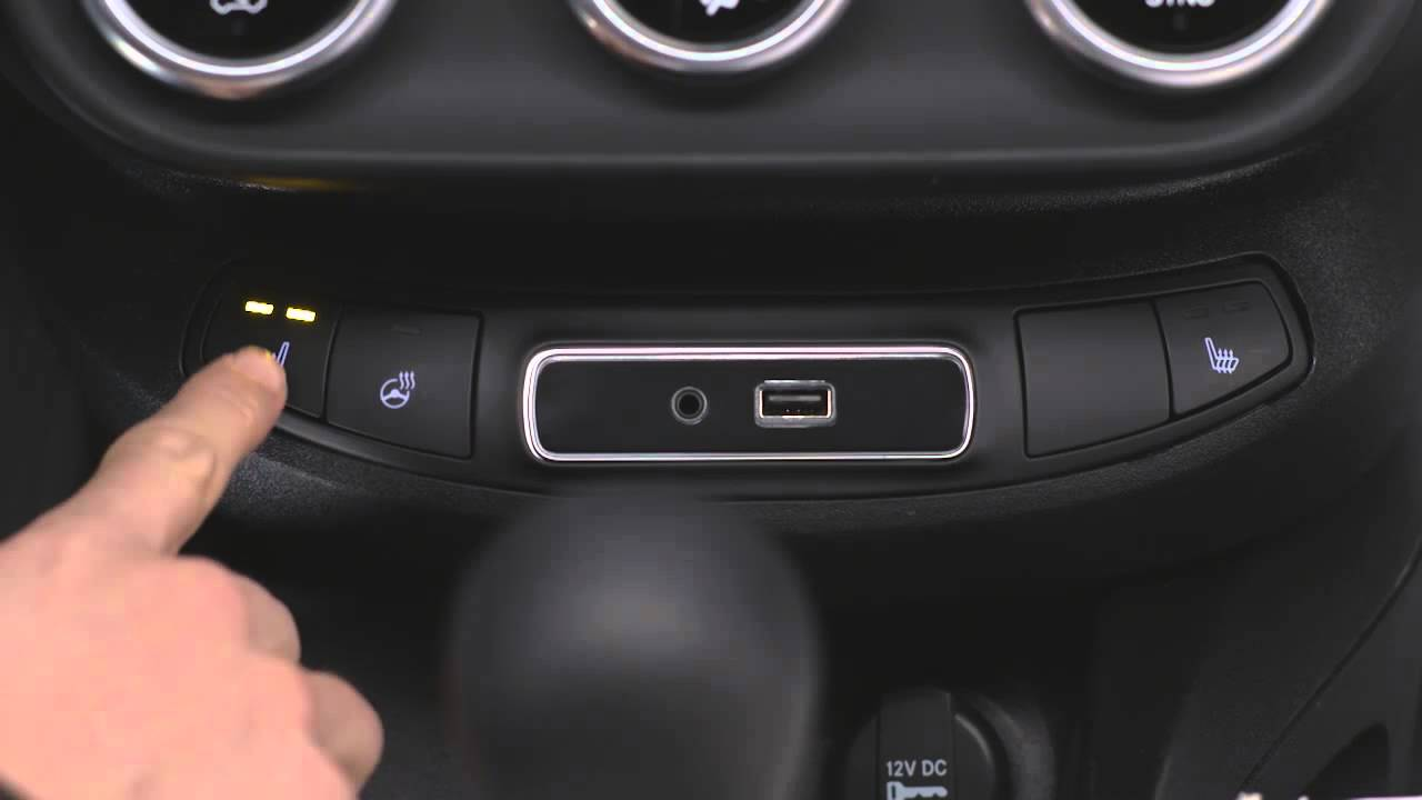 2016 fiat 500x heated seats youtube. Black Bedroom Furniture Sets. Home Design Ideas