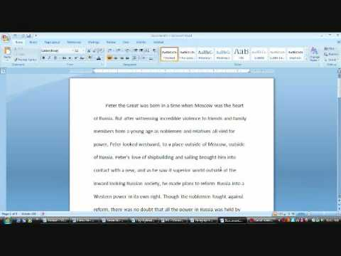 How to Write an Essay. Step 4 Proofreading & Editing.