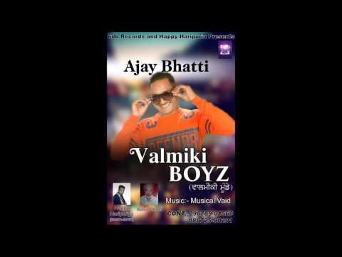 Balmiki Munde|Ajay Bhatti|| Musical Vaid|Happy HariPuria|6db Records|