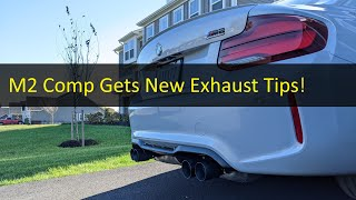 homepage tile video photo for ANOTHER 2021 M2 Competition Exhaust Mod Fail??