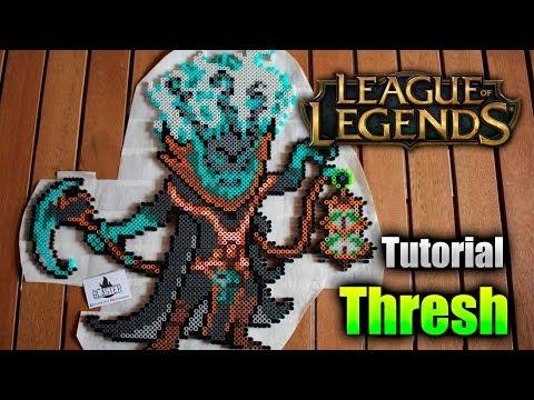 LEAGUE OF LEGENDS TUTORIAL ★ Como hacer a THRESH en Hama/Perler Beads thumbnail