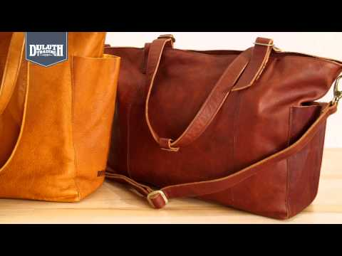 Duluth Trading Lifetime Leather Bags