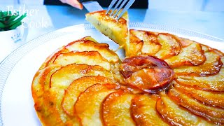 No오븐No베이킹 촉촉하고 상큼한 사과빵 알토란레시피(apple bread recipe)