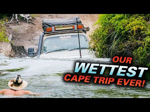 CAPE YORK MADNESS - Which 4WD FLOATED?  ROOF-DEEP RIVER CROSSING -  Old Telegraph Track in detail