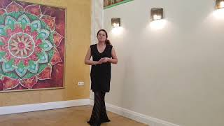 Видеоуроки по базе танца живота от Лейлы Адоры. Урок 1