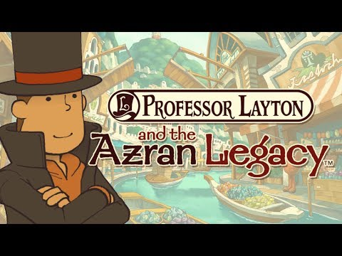 REVIEW - Professor Layton & the Azran Legacy
