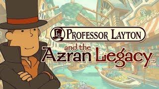 REVIEW - Professor Layton & the Azran Legacy