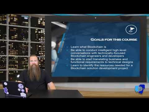 Blockchain Solution Architect Training Intro