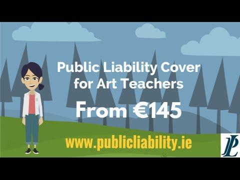 Public Liability Cover for Art Teachers
