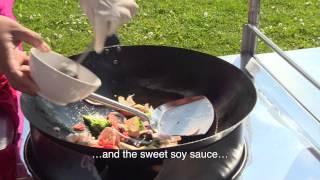 How To Make Cashew Chicken Stir-fry (วิธีการทำมะม่วงหิมพานต์ไก่ผัด) Menu 1
