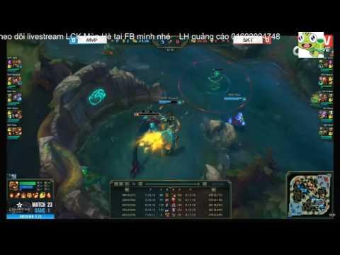 LCK mùa hè 2017 SKT T1 vs MVP --------- Game 1