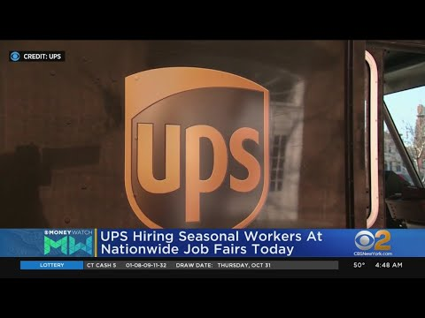 UPS Hiring Seasonal Workers At Job Fairs