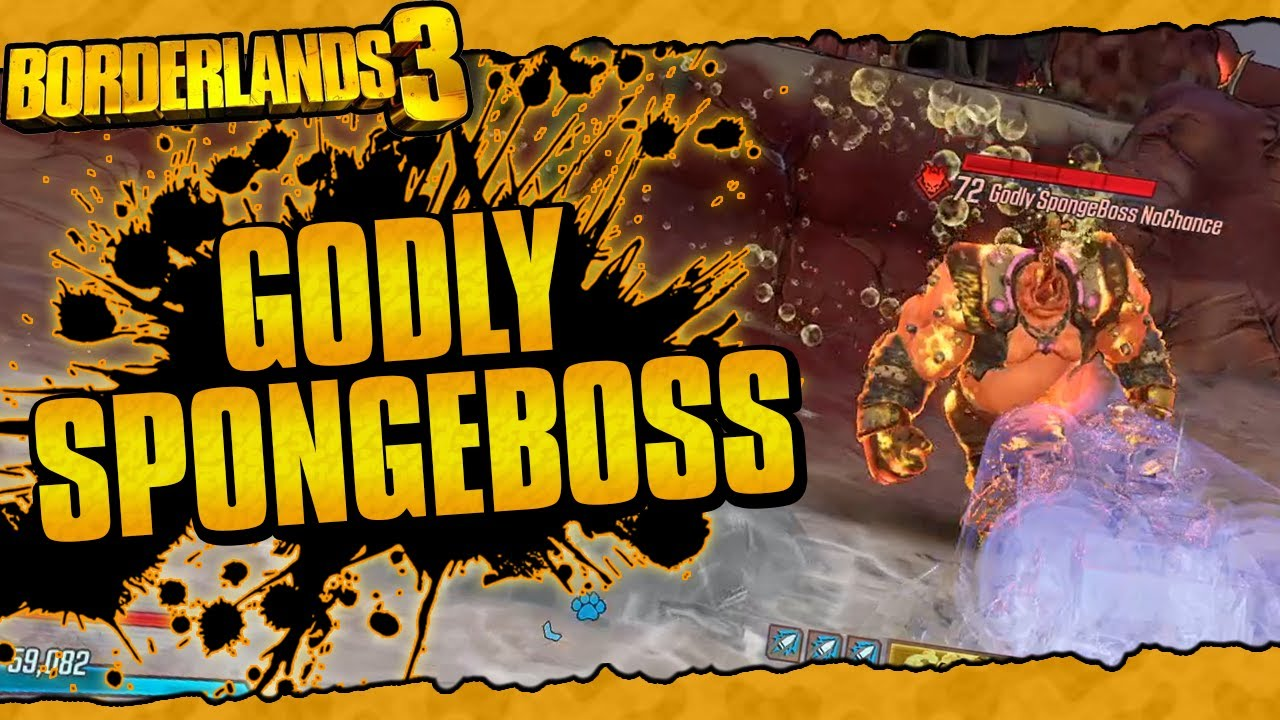 Borderlands 3 | Spawning Godly SpongeBoss NoChance (Mountains Of HP And Massive Damage Reduction!) thumbnail