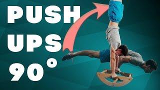 90 DEGREE PUSH UPS! BEST EXERCISES!