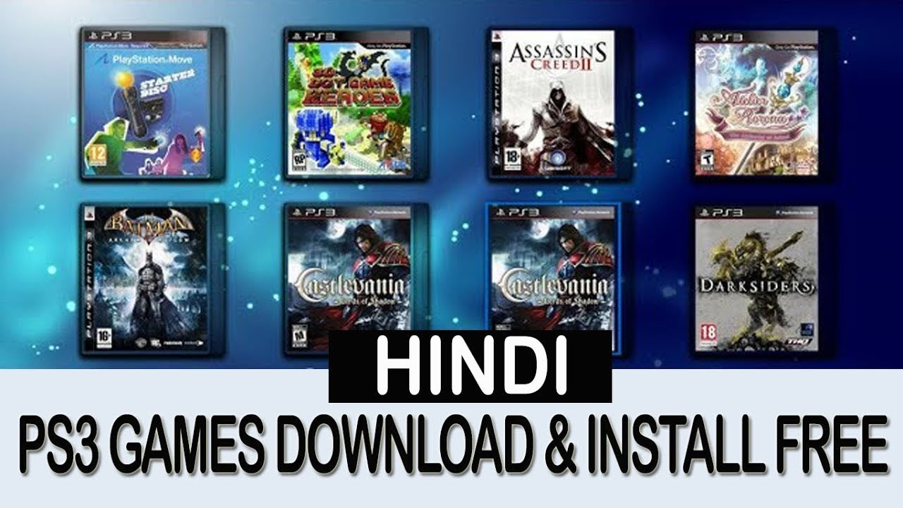 ps3 game download
