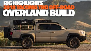 2018 Toyota Tacoma TRD Off-Road - Adams Overland Build   Rig Highlights