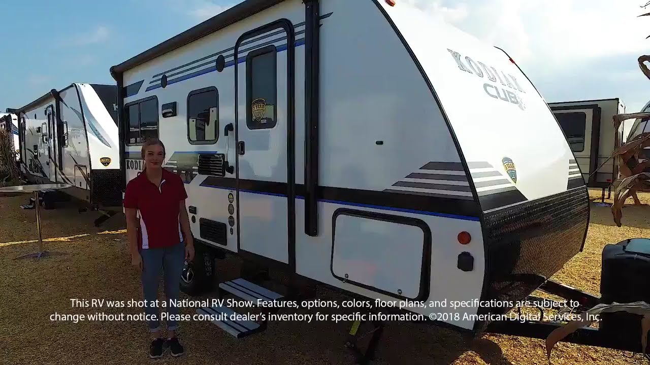 2018 Kodiak Travel Trailers Floor Plans New 2018 Dutchmen Rv Kodiak Cub 176rd Travel Trailer