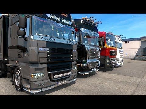 Euro Truck Simualator 2   Новые Германские дороги, просторы Германии в ETS 2