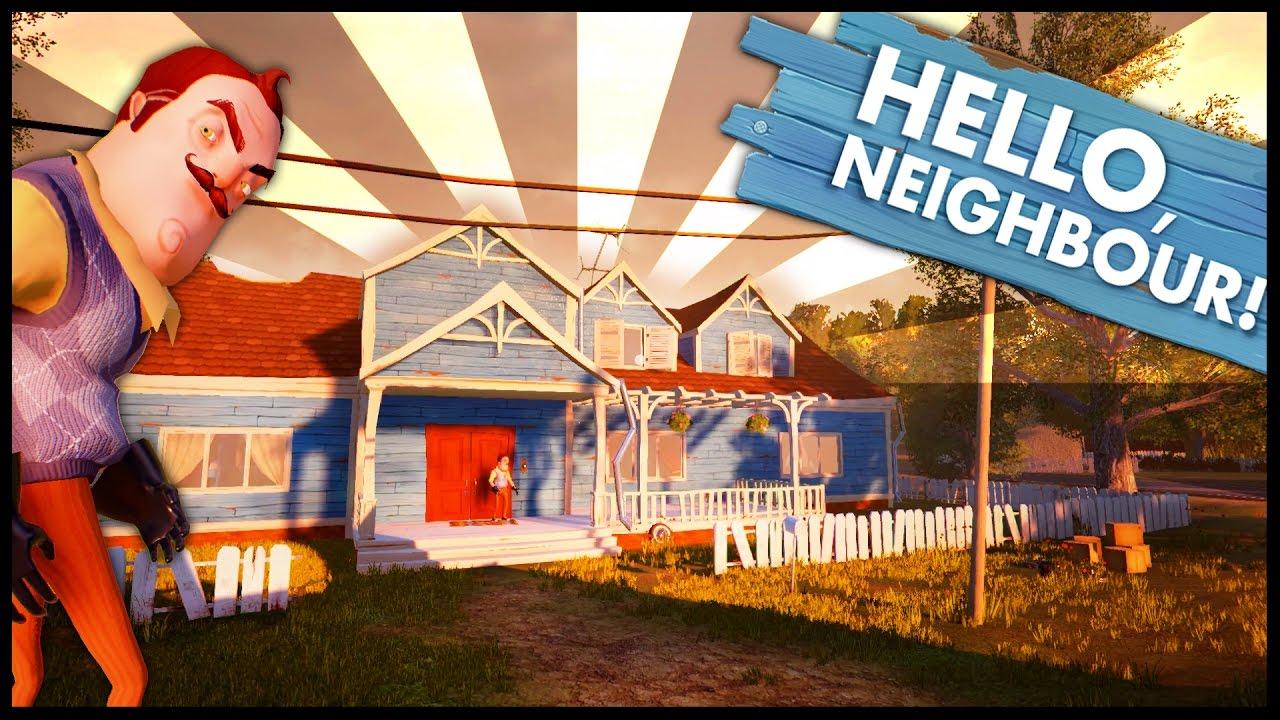 The hello neighbor house - Hello Neighbor Alpha 2 Update Gameplay Brand New House New Graphics New Everything Youtube