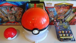 Pokemon Big PokéBall Marble Carrying Case - Holder with Marbles モンスターボール