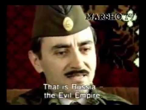 The First President Of Chechnya Djokhar Dudaev about Russian-Caucasian war (Estonian film)