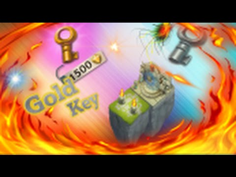 Castle Clash: Whats In A Gold Key (Lost Real)
