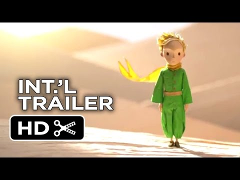 The Little Prince French Trailer (2014) - Animated Fantasy Movie HD