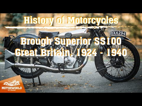 Brough Superior SS100 | 1928, Great Britain. Review & test-drive.