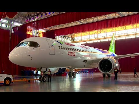 China's first homegrown large passenger jet C919 is coming soon!