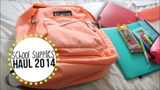 Back to School Supplies Haul 2014! Thumbnail
