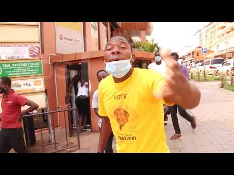 Banna-NRM abavuganya ku bifo eby'enjawulo mu Kampala balozezza ku mukka ogubalagala
