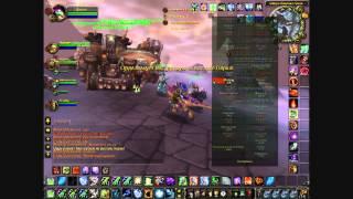 World of Warcraft - Первый бой на Озере Ледяных Оков [кусок]