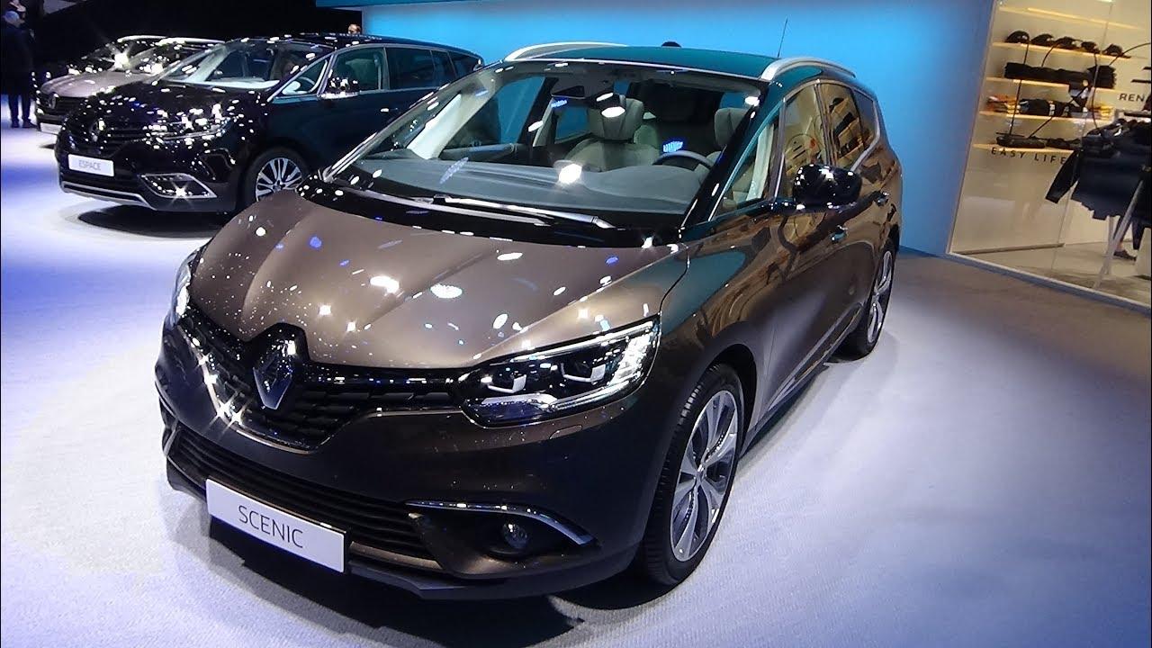 2018 Renault Grand Scenic Dci 160 Edc Exterior And Interior