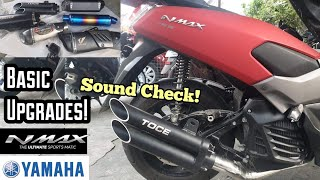 ACCESSORIES AND UPGRADES FOR YAMAHA NMAX (BASIC MUNA TAYO!)