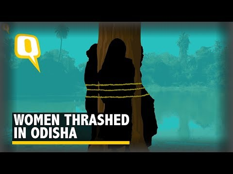 Five Women Tied to a Tree in Orissa on Suspicion of Witchcraft - The Quint