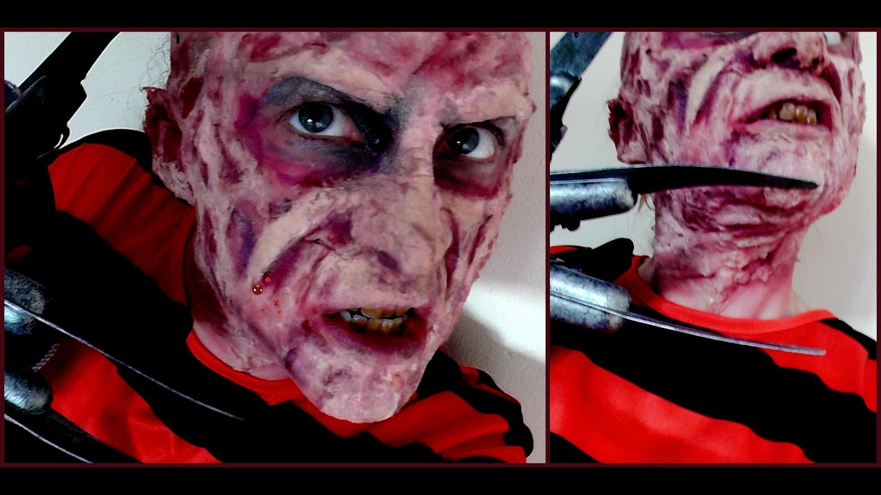 Freddy Krueger, A Nightmare on Elm Street, Halloween FX make-up ...